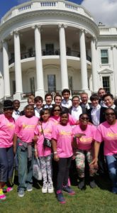 white house with conkey cruisers